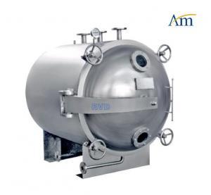 Auto FZG YZG Round Vacuum Drying Chamber , - 0.1 Degree Vacuum Drying Equipment
