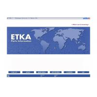 Quality ETKA Electronic Catalogue V7.5 Automotive Scan Tool Software For Audi VW Seat Skoda for sale