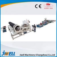 China Jwell PVC-C High Voltage Cable Protection Pipe Extruders Plastic on sale