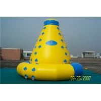 Quality Customized Size Inflatable Water Climbing Wall , Inflatable Water Sports Toys for sale