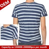Quality 2015 brand show latest striped designs mens tshirt for sale