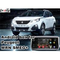 Quality Android Car Gps Navigation Box & Video Interface For 2016 Peugeot 3008 5008 With Youtube Waze Rear View Etc for sale