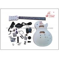LP Style Solid Basswood DIY Electric Guitar Kits With Rosewood Fingerboard
