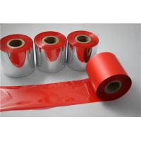 Quality Wash resin red ribbon for thermal printer for sale