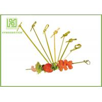 Quality Healthy Bbq Vegetable Skewers , Yakitori Roasting Wooden Meat Skewers For Party for sale