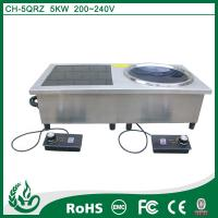 China Double burner commercial induction cooker on sale