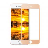 Quality 3D Silk Printing Cell Phone Tempered Glass Screen Protector Full Cover IPhone 6 Plus for sale