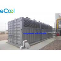 Buy cheap CO2 Refrigeration Station Freezer Condensing Unit / Machine Room Free Cascade Compressor Unit from wholesalers