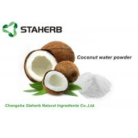 China Organic Dehydrated Fruit Powder , White Coconut Water Powder For Drink / Food on sale