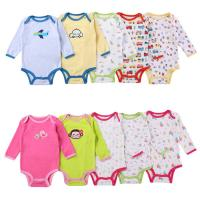 Quality Summer Cute Baby Onesies Fashionable Children Wear Cotton Short Sleeve Fair Trade Suit Clothing for sale