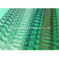 Buy cheap Books Custom Colorful Double Loop Wire O Binding Spirals 3 1 Pitch product