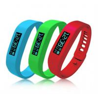 Buy cheap Bluetooth OLED Smart Health Bracelet Lightweight for Exercise from wholesalers