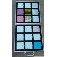 Quality Aluminum Marble Display Case , Silver Color Stone Display Box Lightweight for sale