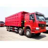Quality Sinotruk Howo 50 Ton Dump Truck For Construction And Mineral Material Transportation for sale