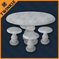 Quality White Marble Garden Furniture for sale