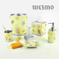 Buy cheap 6 Piece Polyresin Bathroom Set product