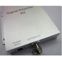Quality Cover 300m2 4G 2600mhz booster 4G mobile phone signal repeater with panel antennas indoor for sale