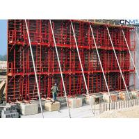 Buy cheap Concrete Wall Formwork System , Steel Wall Formwork For Straight Wall from wholesalers