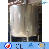 Buy cheap Pure Chemical  Aseptic Storage Tanks  Acrylic Pressure Vessel For Milk product