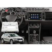 Quality Volkswagen Skoda Android Video Interface 8 '' Inch Screen With Waze Google for sale