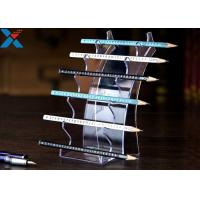 Quality Eyebrow Pencil Clear Acrylic Display Stands Acrylic Pen Holder Display Stand for sale