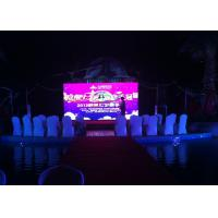 1R1G1B P6 Stage LED Screens , SMD3528 1/16 Scan Stage Background LED Display