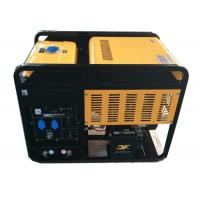 Quality 300A portable diesel generator welder 2 cylinder air cooled engine for sale