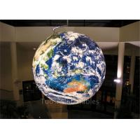 Buy Multifunction Globe Round Earth Balloon / Customized Design World Helium Ball at wholesale prices