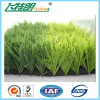 Quality Monofilament Fake Plastic Grass Artificial Lawns Flat Shape 3'' / 8'' High Density Color Fastness for sale