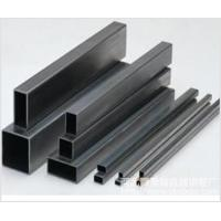 Quality Hot Dip Galvanized Steel Hollow Section Tubes Rectangular / Square EN1O210 , Bright Annealed for sale