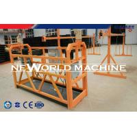Quality Building Construction Tools ZLP500 Type Suspended Platform Cradle / Suspended Working Plat for sale