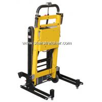 China Comfortable Wheelchair Stair Stretcher , Yellow Stair Climbing Stretcher on sale