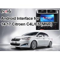 Quality Android Navigation Video Interface for Citroen , Google Market / Google Map / WiFi / 3G​ for sale