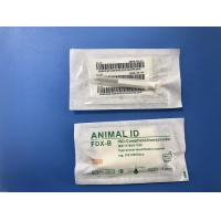 China Hitag - S256 Pet Microchip Single Needle Packed In A Sterile Bag For Animal Management on sale