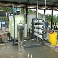 FRP Industrial Water Purification Machine Automatic Manual Operation Non Leakage