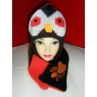 Quality 100% Acrylic Knitted Scarf & Hat (CR-TLCA00016) for sale