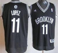 China Brooklyn Nets 11 Brook Lopez Black Revolution 30 Swingman NBA Jersey on sale