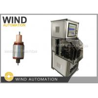 China Auto Starting Motor Armature Testing Machine For Slots Below 36 on sale