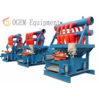 Quality Hydrocyclone Desilter Drilling Fluid Solids Control Service for sale