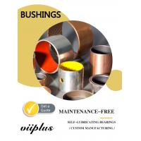 Quality Metric Size Dry Sliding Bearings , Self Lube Bushings With Long Life Time for sale