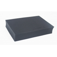 Quality Die cut foam black molded foam for packaging tools insert boxes for sale