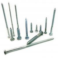 Quality Hex Head Wood Screw DIN571 Zinc Plated Carbon Steel Wood Screw for sale