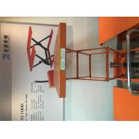 Quality Orange Pneumatic Lift Table With Durable Enamel Finish , Hydraulic Cylinder for sale