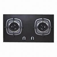 Quality Built-in Gas Hob, Made of Ceramic Material, 4.1/4.1k/W Rated Thermal Flow and 780 x 450mm Panel Size for sale