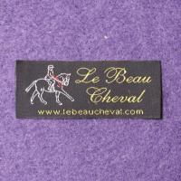 Quality Washable Polyester Woven Clothing Labels For Clothing Garment Bags for sale