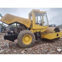 Quality BOMAG BW225D-3 Used Road Roller , Single Drum Vibratory Roller Deutz Engine 147kw for sale