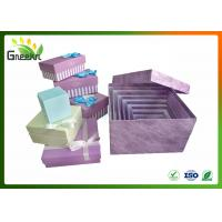 China Rigid Square Nested Custom Gift Boxes for Christmas Gift Package on sale