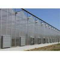 Quality 50 Micron UV Thickness PC Sheet Greenhouse Customized Length Clear Color for sale