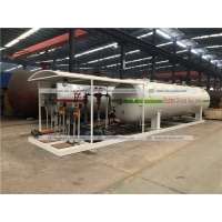 Quality 10tons LPG Skid Station Propane Cooking Gas Cylinder Refilling Skid Plant for sale