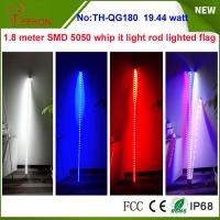 China 19.44w 7 inch Whip it light rod lighted flag for ATV, Camp Locator outside on sale